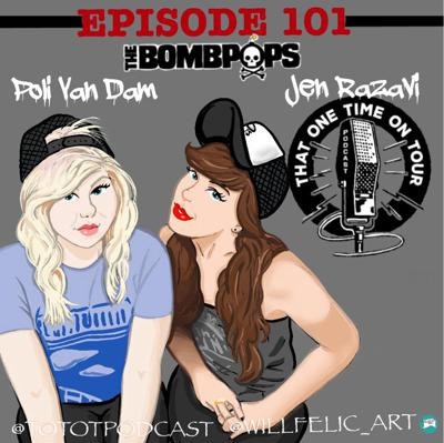 Cover art for Poli Van Dam and Jen Razavi (The Bombpops)