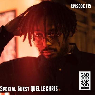 Cover art for Episode 115- Living Happy with guest Quelle Chris