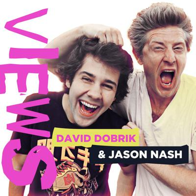 """In this weekly podcast, David Dobrik, a 24-year-old, sexy, millionaire YouTuber and Jason Nash, a 40-something single dad with a vlog of his own, take you behind-the-scenes of their vlogs and show you what living the """"YouTube life"""" is really like. Join these two as they confess their most intimate thoughts, discuss pop-culture, and dissect their own contentious relationship. New episodes drop every Monday!"""