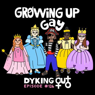 Cover art for Growing Up Gay w/ Cameron Esposito - Ep. 126