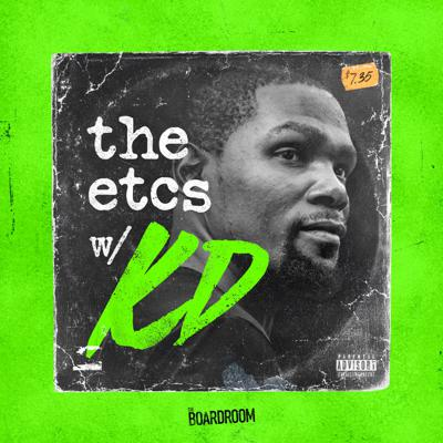 Welcome to The ETCs Podcast with Kevin Durant, where KD, co-host Eddie Gonzalez, and special guests will have candid conversations about the best of sports, music, entertainment and culture. From the most underrated teams in NBA history to the rise of street fashion in the '90s to the current landscape of rap music, each episode will be a deep dive into the history, legacy and lasting impact of a landmark cultural moment that helped shape the world as we know it today.