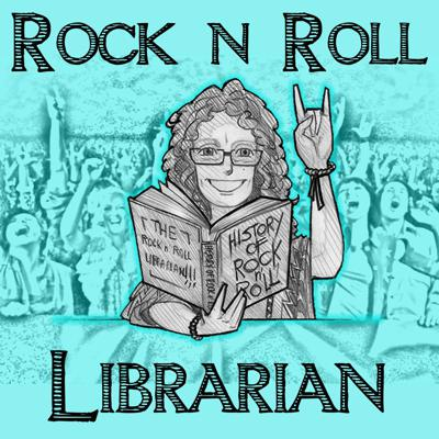 """The Rock N Roll Librarian: Our Monthly Rock N Roll Book Club, co-hosted by Shelley Sorenson and Christian Swain. Shelley picks a book, usually a Rock N Roll biography, she reads it and I purposely do not and then we dig into it together. Shelley is a rocker from way back, and a professional librarian from way back. She goes way back with us too - the Librarian was our first """"spin off"""" show! Shelley sees Rock N Roll Librarian as an opportunity to combine her love of books and love of music into something new! Proud part of Pantheon - the podcast network for music lovers."""