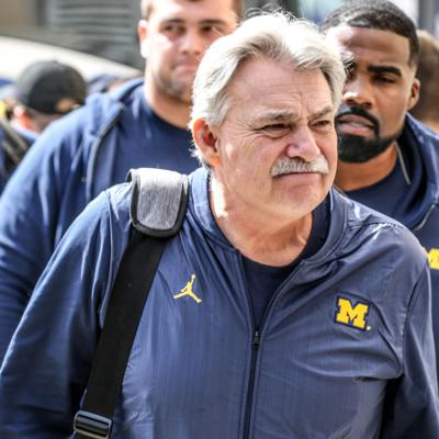 Cover art for Locked On Wolverines - May 22, 2020: Reacting to Don Brown's media availability