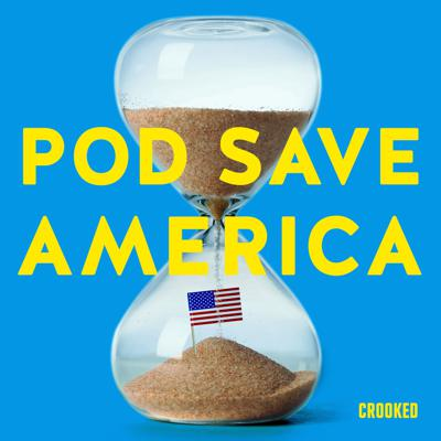 Four former aides to President Obama—Jon Favreau, Jon Lovett, Dan Pfeiffer and Tommy Vietor—are joined by journalists, politicians, activists, and more for a no-b******t conversation about politics. They cut through the noise to break down the week's news, and help people figure out what matters and how they can help. Text us questions and comments: (323) 405-9944.New episodes Mondays and Thursdays. New series on the VP selection process: That's The Ticket!—hosted by Dan Pfeiffer and Alyssa Mastromonaco—all 3 episodes out now in the Pod Save America feed.