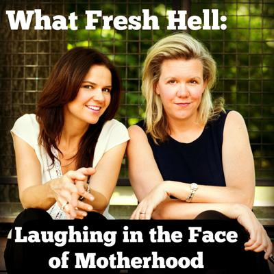 """Hosted by funny moms Margaret Ables (Nick Mom) and Amy Wilson (When Did I Get Like This?), """"What Fresh Hell: Laughing in the Face of Motherhood"""" is a comedy podcast solving today's parenting dilemmas so you don't have to. We're both moms of three, dealing with the same hassles as any parent, albeit with slightly differing styles. Margaret is laid-back to the max; Amy never met an expert or a list she didn't like. In each episode, we discuss a parenting issue from multiple perspectives and the accompanying expert advice that may or may not back us up. We talk about it, laugh about it, call out each other's nonsense, and then we come up with concrete solutions. Join us as we laugh in the face of motherhood! Winner of the 2018 Mom 2.0 Iris Award for Best Podcast, the 2017 Podcast Awards People's Choice for Best Family and Parenting Podcast, and finalist for the 2019 Romper's Parent's Choice Award. whatfreshhellpodcast.com"""