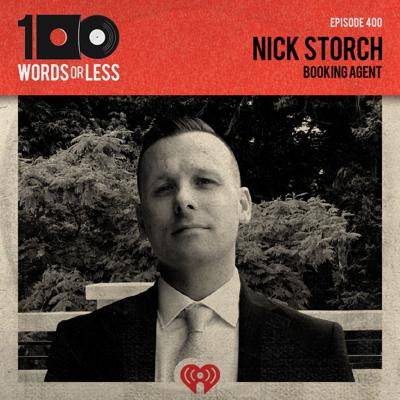 Cover art for Nick Storch, booking agent