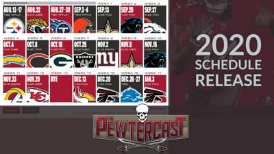 Cover art for 2020 Buccaneers Schedule Release