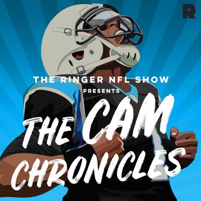 Cover art for 'The Ringer NFL Show' Presents 'The Cam Chronicles'