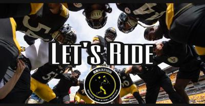 Cover art for Let's Ride: Steelers receivers corps may lead to a false sense of security