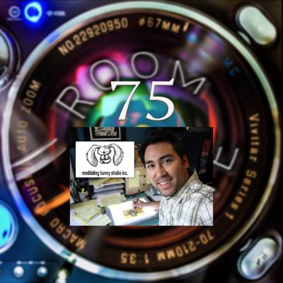 Cover art for ROOM TONE Take 75 (Jeff Chiba Stearns / Meditating Bunny)