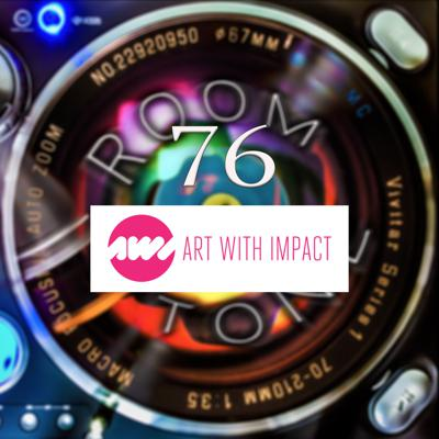 Cover art for ROOM TONE Take 76 (Natalie Daley / Art with Impact)