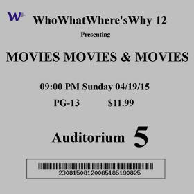 Movies Movies and Movies - whowhatwhereswhy