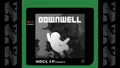 Cover art for NOCLIP Pocket E36 - Above My Play Grade - Downwell
