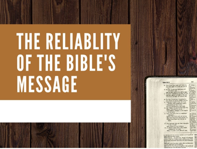 Cover art for #718 - Is the Bible Reliable? Evidence from Its Message