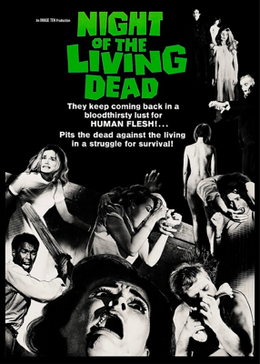 Cover art for Episode 77 - Beyond Night of the Living Dead (1968)