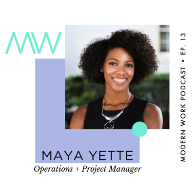 Cover art for Maya Yette, Operations & Project Manager