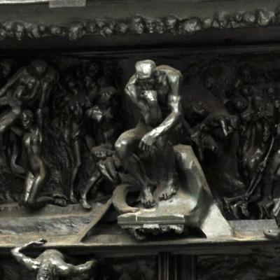 Cover art for 161: Rodin's Gates of Hell
