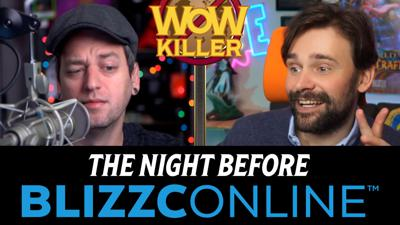 Cover art for WoW Killer #40: The Night Before BlizzcOnline
