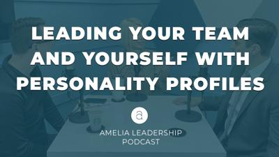 Cover art for Leading Your Team and Yourself with Personality Profiles