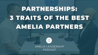 Cover art for Partnerships: 3 Traits of the Best Amelia Partners