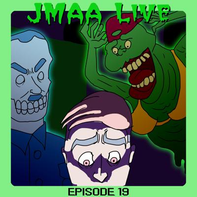 Cover art for JMAA LIVE! Episode 19 - The unfunny banshees and ghouls