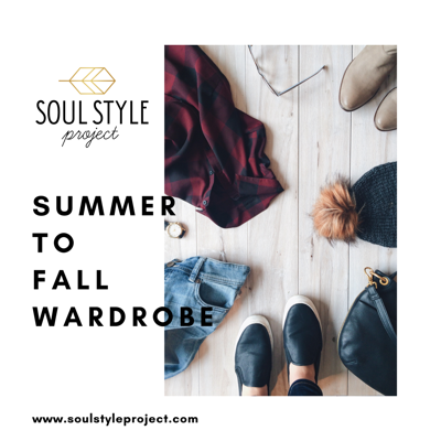 Cover art for Episode 8 - Summer to Fall Wardrobe