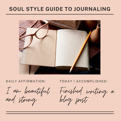 Cover art for Episode 11 - Soul Style Guide to Journaling