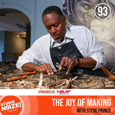 Cover art for The Joy of Making w/ printmaker Steve Prince