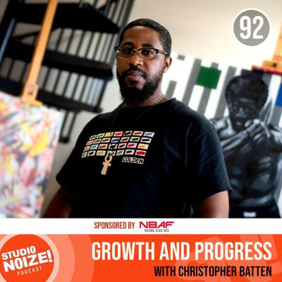 Cover art for Growth and Progress w/ artist Christopher Batten