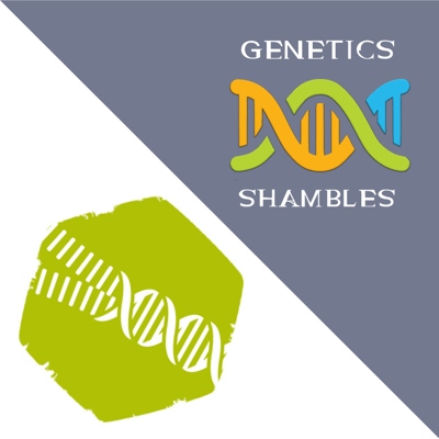 Cover art for Genetics Shambles 12: 9 Lessons and Carols for Socially Distanced People