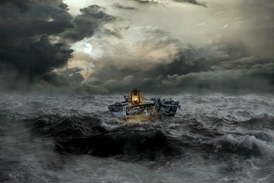 Cover art for 5. Three Death Gods On A Boat
