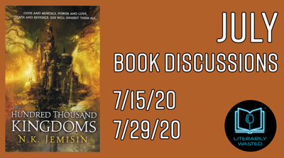 Cover art for The Hundred Thousand Kingdoms - Discussion #2