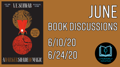 Cover art for A Darker Shade of Magic - Discussion #2