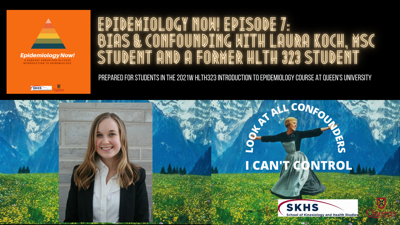 Cover art for Ep.7: Bias & Confounding with Laura Koch