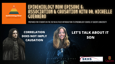 Cover art for Ep.6: Association & Causation with Dr. Michelle Guerrero