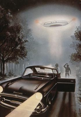 Cover art for EP 23: Classic Alien Abductions: Betty and Barney Hill