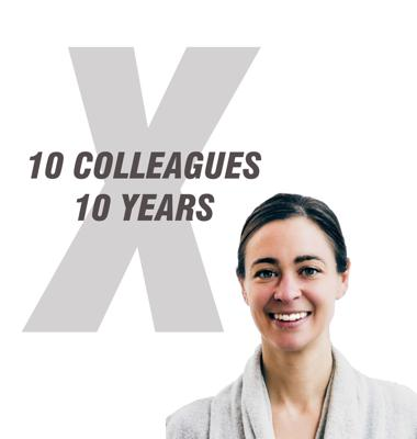 10 Colleagues, 10 Years
