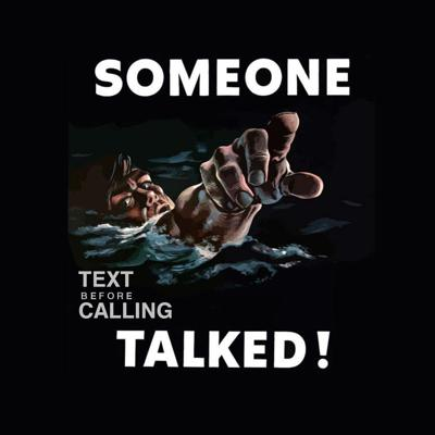 Text Before Calling