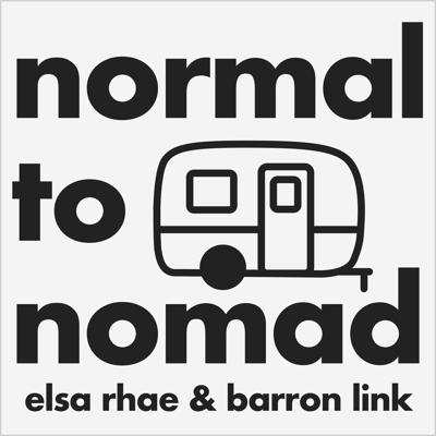 We are full time nomads, Barron a tech wizard and Elsa an online digital artist, living in an off-grid 13ft Scamp trailer, traveling through the wilderness of North America. With the power of the internet and the freedom of travel, we are constantly experimenting and exploring through many facets of life, technology, health, and mindfulness, and sharing our findings here with you on the Normal to Nomad Podcast.