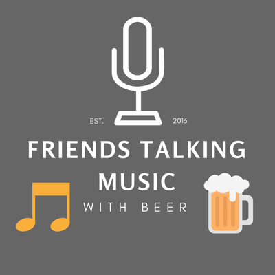 Friends Talking Music with Beer