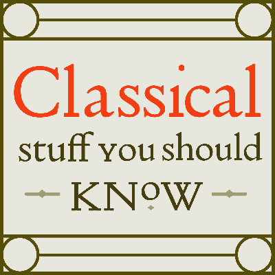 A.J., Graeme, and Thomas discuss everything having to do with the classical world. Our aim is to help both educators and laypeople enjoy the classical world as much as they enjoy fine ales and good tales.
