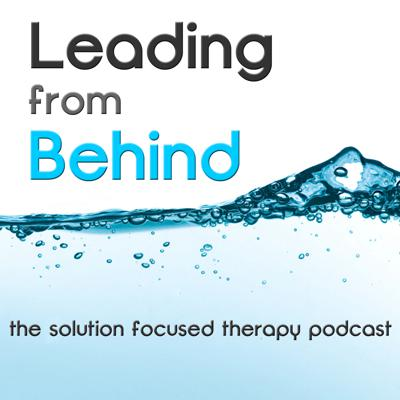 Leading From Behind is a podcast about the practice of solution focused therapy. Available on the 15th and 30th of each month, the podcast is directed toward helping professionals with an interest in developing their knowledge and skills in solution focused practice.