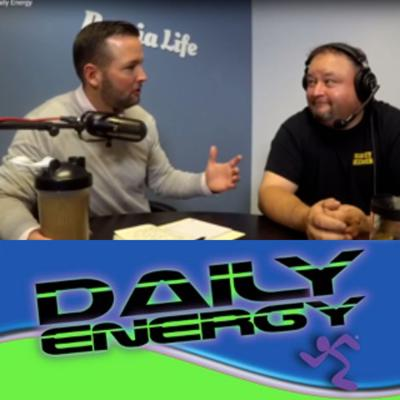 Daily Energy is hosted by Doug Pinter owner of Anytime Fitness Peoria, who is the local owner of Anytime Fitness Peoria. Anytime Fitness is the world's largest 24 hour gym and co-ed fitness center chain. It is the fitness center that fits your on-the-go lifestyle.