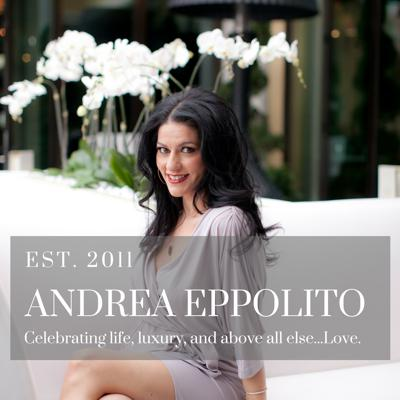 Las Vegas Wedding Planner Andrea Eppolito shares her thoughts on wedding planning, party planning, event design, and luxury lifestyle choices.