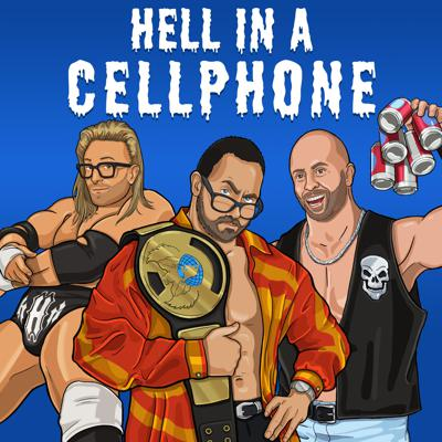 "Hell in a Cellphone is a wrestling podcast hosted by three comedian friends, where longtime marks Aaron Benoit and Bobby Hankinson introduce recent convert Eric Silver to the shock and awe of the Attitude Era in WWF/WWE. From ""Austin 3:16"" through ""Ruthless Aggression,"" in each episode they'll watch a pay-per-view and dissect the rise of some of the biggest, most charismatic wrestlers of all time, and reckon with all the baggage that came along with them. There will be romance, there will be tragedy, and you know somebody is going through the Spanish announce table!"