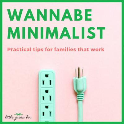 """The Wannabe Minimalist Show is for people who are tired of the chaos in their life, but not sure this whole """"minimalism thing"""" will work for them and their busy family. Through personal stories and guest appearances, this podcast will help you discover how to live with a minimalist mindset without having to throw EVERYTHING away. It's practical, doable, and simple for those of us that wannabe minimalist."""