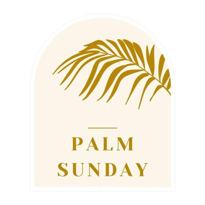 Cover art for Palm Sunday