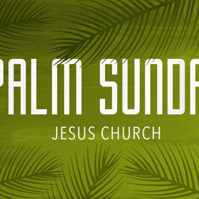 Cover art for Palm Sunday 2021