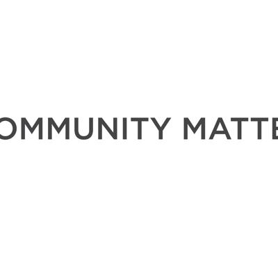 Cover art for Community Matters Week 1