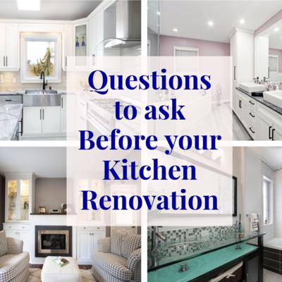 Cover art for 10 Questions to Ask Before you Start your Kitchen Renovation